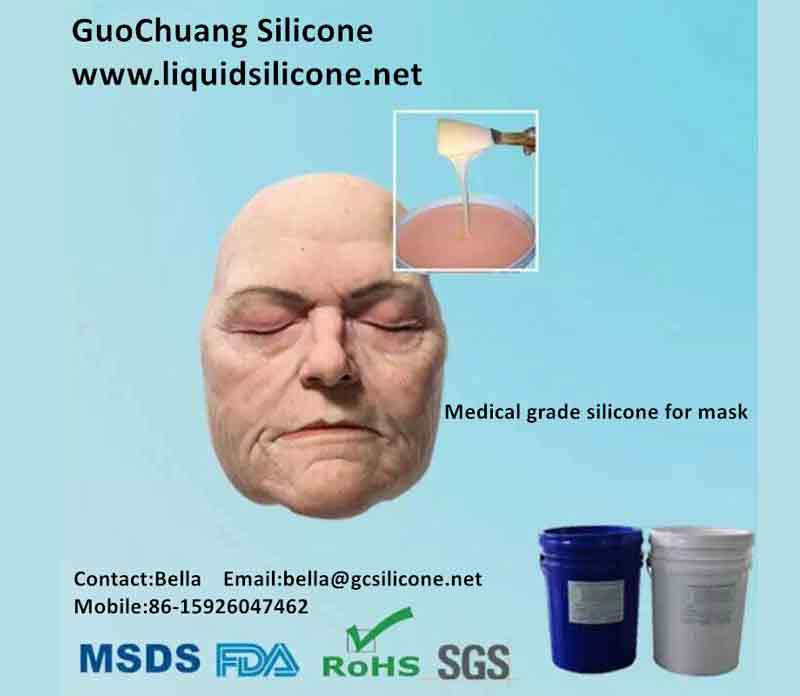 Mask Making Silicone Rubber