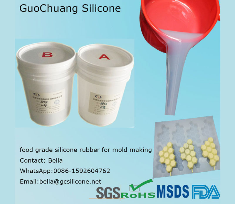 Cooked Food Molding Silicone