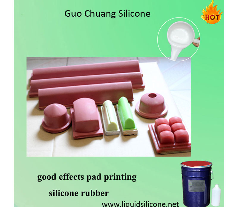 Platinum Cure Pad printing Silicone Rubber, Silicone Rubber