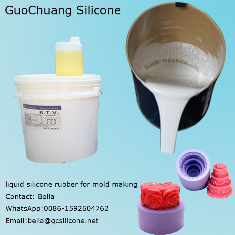 C-810 soft rtv 2 liquid silicone with hardener for mold making