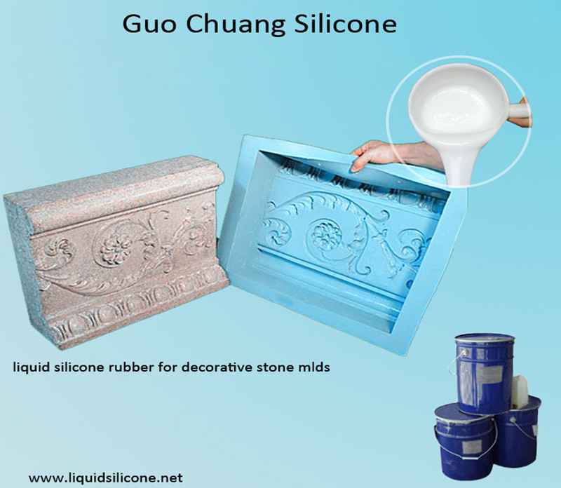 Addition Cure Liquid Silicone Rubber for Concrete & Stone Casting