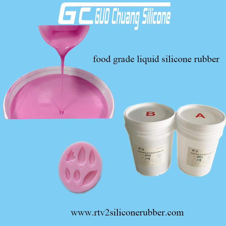 Food grade liquid silicone rubber for mold making