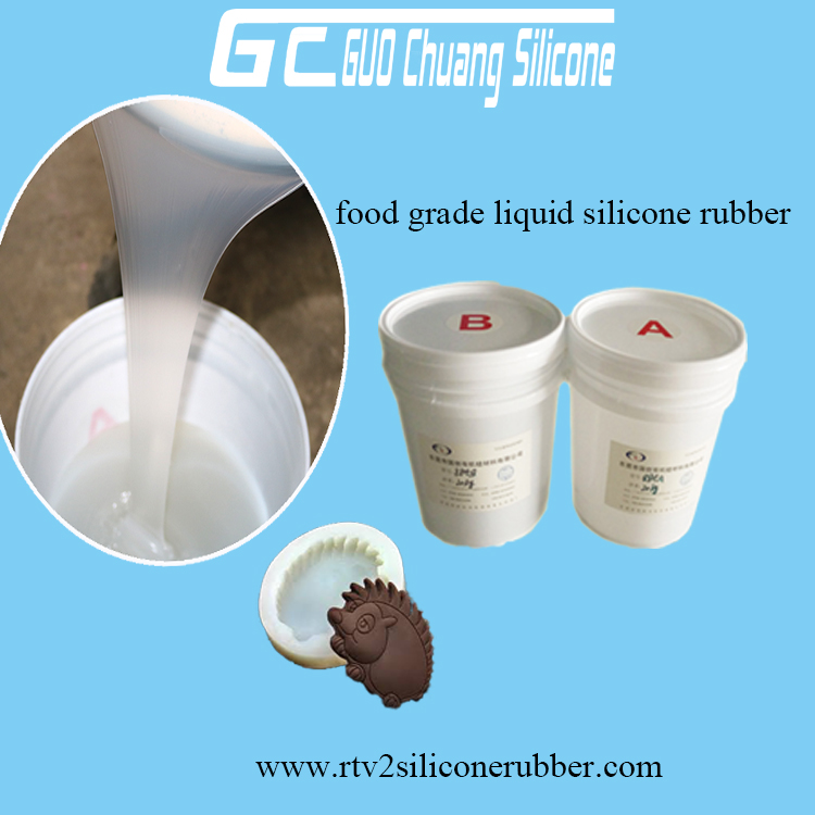 SP-810 Soft food grade rtv2 liquid silicone rubber for mold making