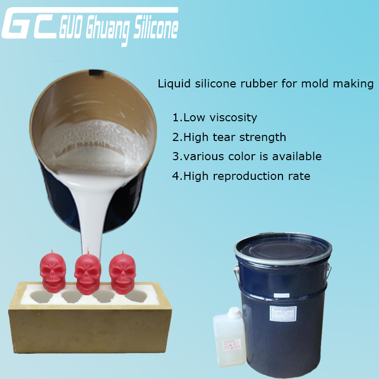 Application of Condensation Cure Silicone Rubber
