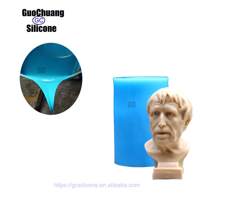 Art Casting Silicone Rubber, RTV2 Silicone for Sculpture