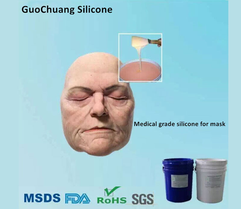 Skin Safe Silicone Rubber for Make Up FX, Platinum Cure